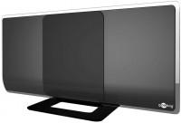 Aktive DVB-T2 Zimmerantenne, inkl. LTE/4G Filter, 42/38dB, schwarz