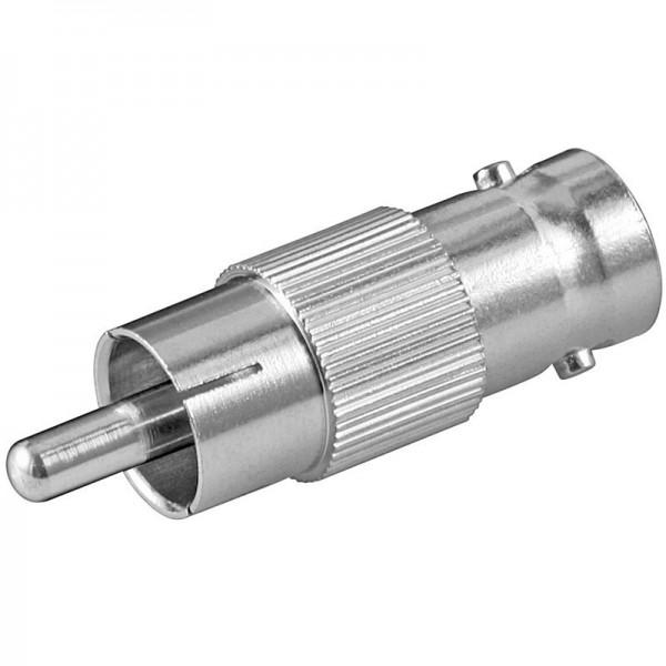 Adapter BNC Buchse - Cinch Stecker
