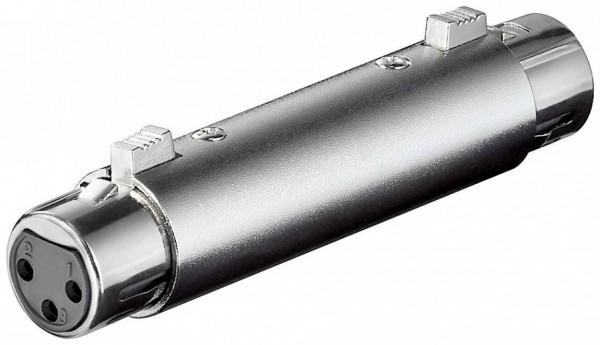 XLR-Adapter, XLR-Buchse (3-Pin) - XLR-Buchse (3-Pin)