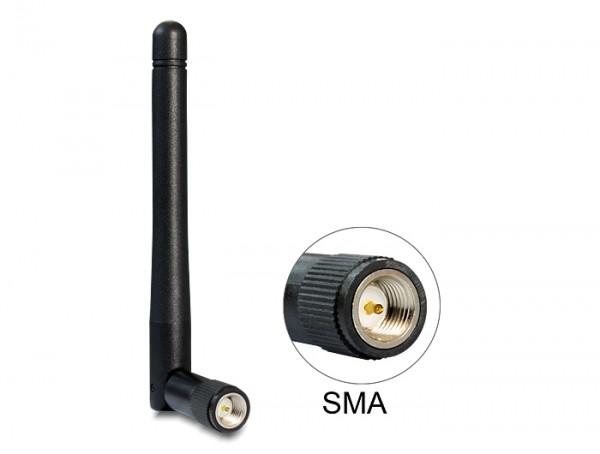 WLAN 802.11 ac/a/h/b/g/n Antenne SMA 2 dBi omnidirektional Gelenk
