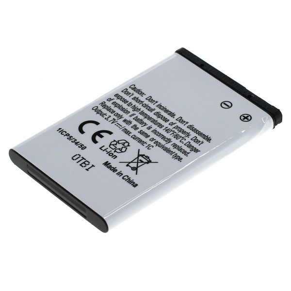Battery compatible with Nokia BL-4C Li-Ion 800mAh