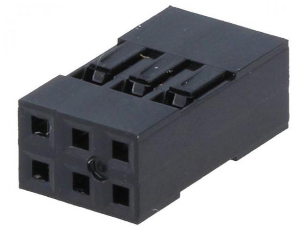 Dupont Gehäuse 2x3 Pin