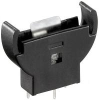 Batteriehalter für Knopfzellen bis 20 mm - PCB Version vertikal (stehend)