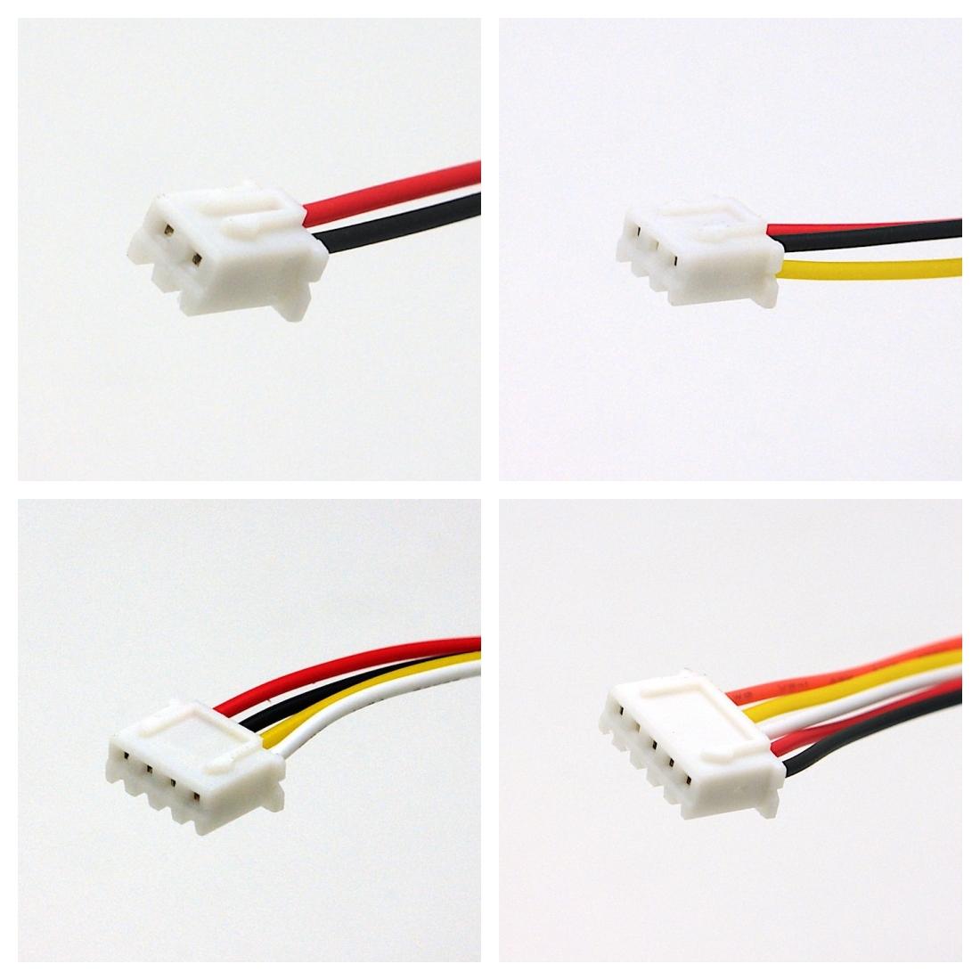 Kabel mit JST XH 2.54mm Steckverbinder, AWG26, 20cm ...