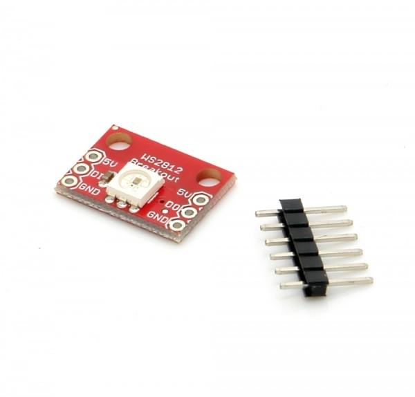 NeoPixel Breakout Board mit 1 WS2812 5050 RGB LED