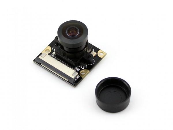 Kamera für Raspberry Pi mit Fisheye-Lens und einstellbarem Fokus