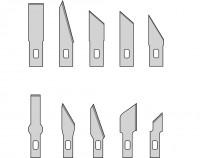 Ersatzklingen für MS01/MS13/MS15, 10 Stück