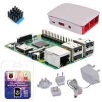 Raspberry Pi 3 Modell B - Starterkit weiß