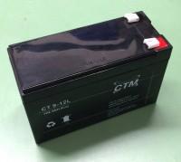 CTM CT9-12L wartungsfreier AGM-Bleiakku 12V / 9Ah Fast-on 6,3mm