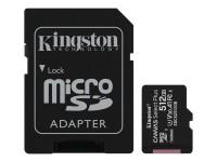 Kingston Canvas Select Plus microSDXC Class 10 Speicherkarte + Adapter 512GB