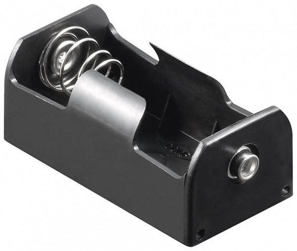 Batteriehalter für 1x Babyzelle C mit Druckknopfanschluss