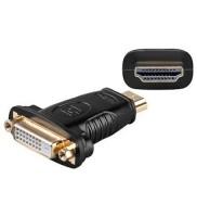 Adapter, HDMI Typ A Buchse - DVI-D (24+1) Buchse, schwarz
