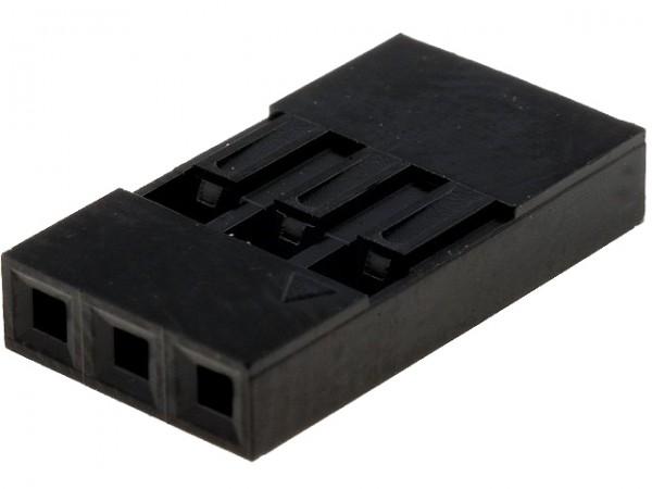 Dupont Gehäuse 1x3 Pin