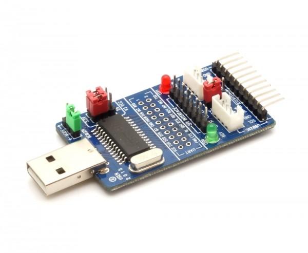 USB - I2C/IIC/SPI/UART/TTL/ISP All-in-One Konverter mit CH341A Chipsatz