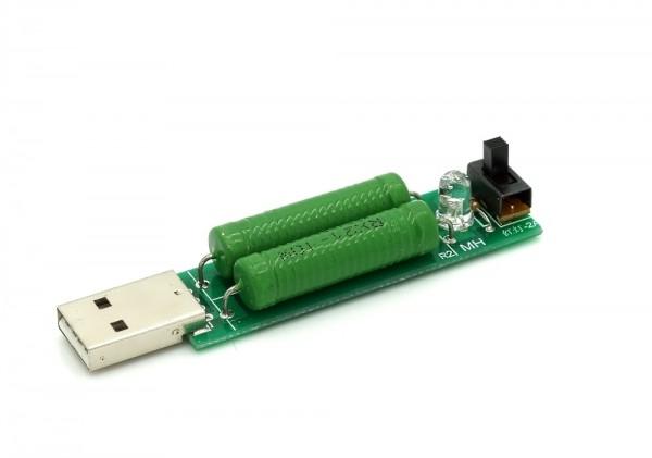 USB Last-Tester / Lastwiderstand für 1A / 2A