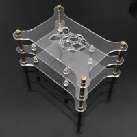stapelbares Acryl Gehäuse für Raspberry Pi 3, 2, B+, A+ - transparent