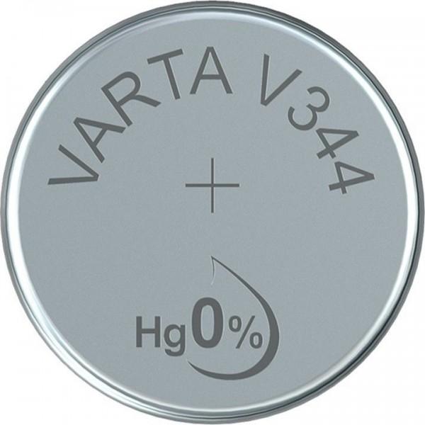 VARTA Silberoxid Uhrenbatterie V344
