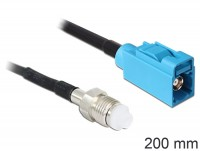 Antennenkabel FME Buchse - FAKRA Z Buchse RG-174 200 mm