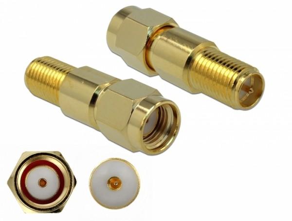 Adapter RP-SMA Stecker zu RP-SMA Buchse 3 GHz