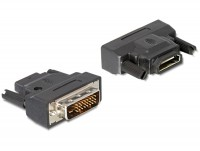 Adapter HDMI A-Buchse - DVI-D (24+1) Stecker mit Aktivitäts-LED