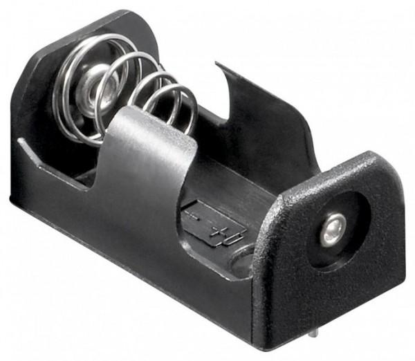 Batteriehalter für 1x CR 2 mit Printanschluss