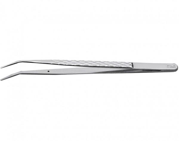 Technische Pinzette, gebogen, 160mm