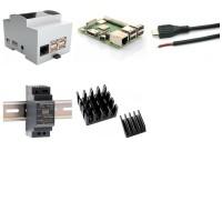 Hutschienen-Kit mit Raspberry Pi 3B +