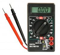 Digitalmultimeter M-330D, 3½-stellig, akustischer Durchgangsprüfer, schwarz