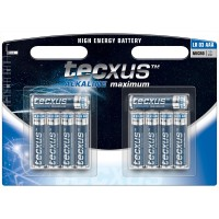 tecxus Batterien Alkaline Micro AAA