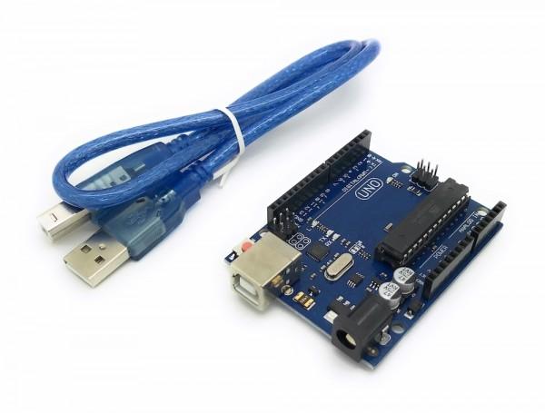kompatibler Arduino Uno mit Atmel Mega 328P Prozessor