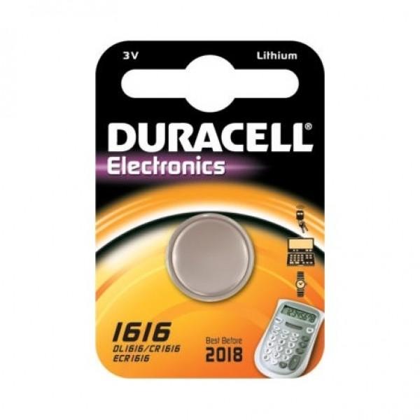 Duracell Knopfzelle Lithium CR1616 - 1er Blister