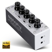 InLine AmpEQ mobile - Kopfhörer-Verstärker und Equalizer mit 3,5mm Klinkenaschluss, USB Stromversorgung und Akku