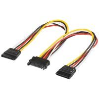 Y-Power Kabel S-ATA Kupplung - 2x S-ATA Stecker