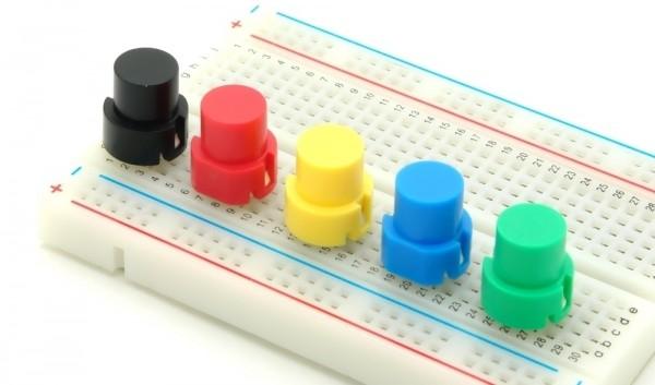 Mikro-Drucktaster 12mm rund, Printmontage, Schließer