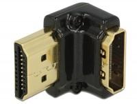 Premium 4K HDMI Winkeladapter A Stecker - Buchse 90° unten gewinkelt