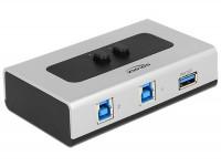 Manuelle 2-Port USB 3.0 Umschaltbox bidirektional