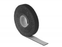 Kabelbinder, Klettverschluss L 3 m x B 13 mm Rolle schwarz