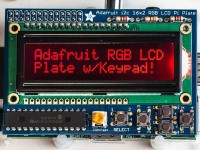 Adafruit RGB Negatives 16x2 LCD und Keypad Kit für Raspberry Pi