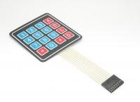 Membran Folientastatur 4x4 mit Klebeschicht