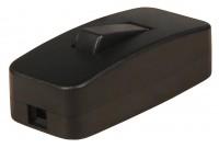 Schnurschalter, 250V / 2A, schwarz