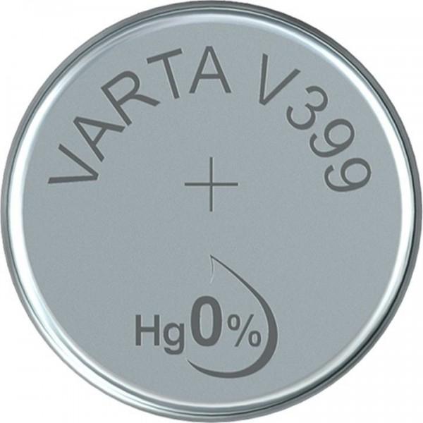VARTA Silberoxid Uhrenbatterie V399 / SR57