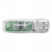 Intenso Rainbow Line USB 2.0 Stick 32GB transparent