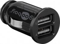 Dual USB-Autoladegerät 2,1A schwarz
