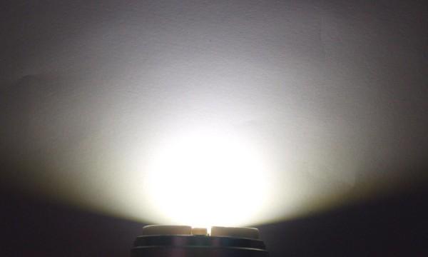 OptoSupply LED, 5mm, 7-7.5lm, 15°, klar, sunshine white