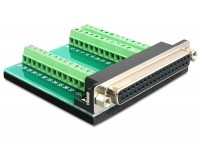 Adapter Sub-D 37 Pin Buchse - Terminalblock 39 Pin