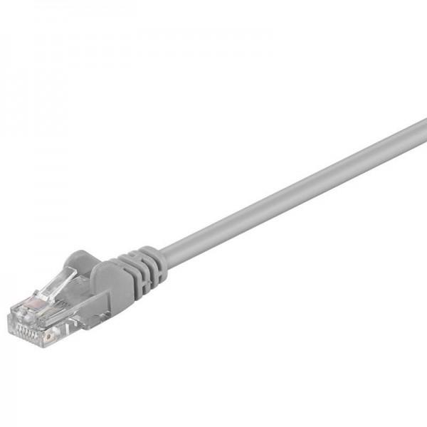 CAT 5e Netzwerkkabel, U/UTP, grau