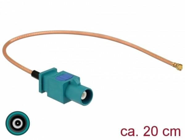 Antennenkabel FAKRA Z Stecker - MHF Stecker RG-178 20 cm