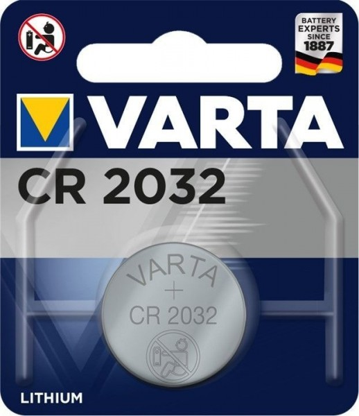 5x BLISTER CR2032 VARTA BATTERIEN  LITHIUM 2032 BATTERIE KNOPFZELLEN