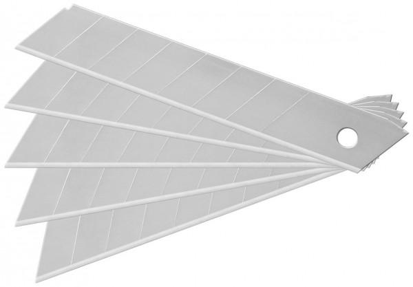 Ersatzklingen für Mehrzweck / Cutter-Messer 18mm - 10er Pack