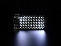 Adafruit 15x7 CharliePlex LED Matrix FeatherWing - Kaltweiß